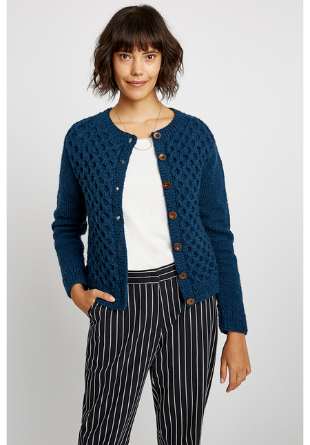 Cardigan Honeycomb