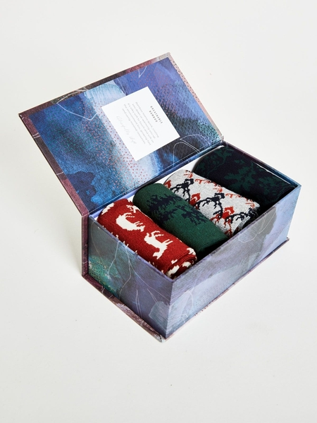 Caja de regalo Woodland Socks